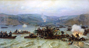 Переправа через Дунай