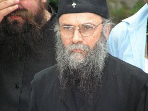 игумен монастыря Черная Река отец Николай, покинувший обитель вместе с братией