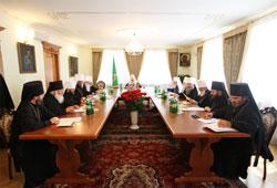 26 июля 2010 года, в Успенской Киево-Печерской лавре под председательством Патриарха Кирилла состоялось заседание св. Синода Русской Православной Церкви