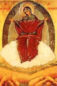 Щедрая Благотворительница  - Матерь Божия Спорительница