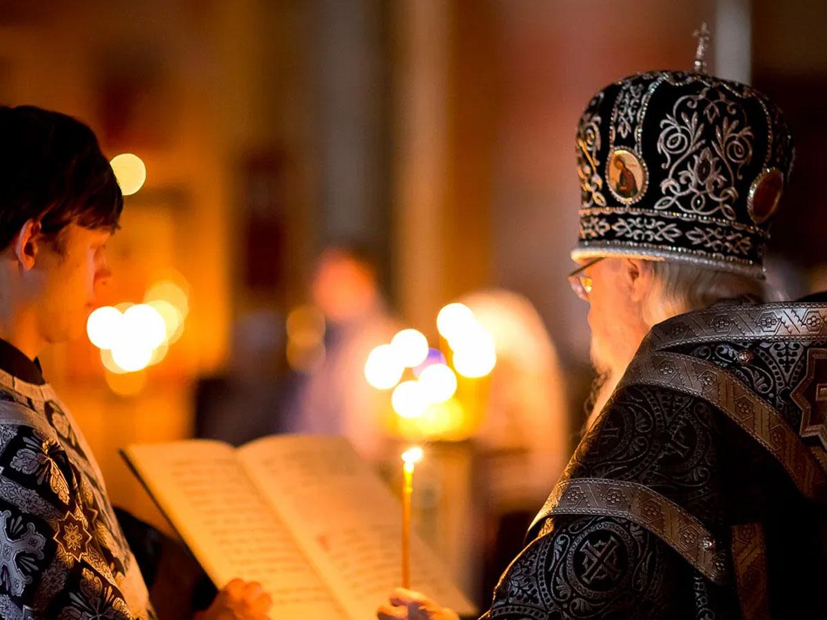 О совершении Литургии Преждеосвященных Даров вечером