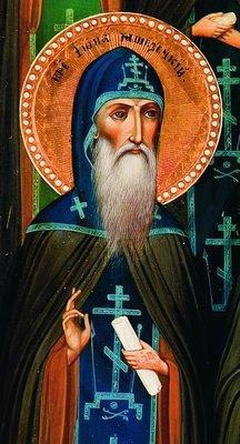 Преподобный Иона Яшезерский
