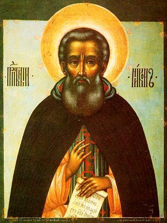 Преподобный Никон, игумен Радонежски