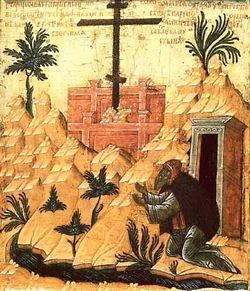Память преподобного Саламана молчальника