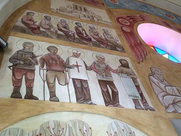 Украинских карателей уже причисляют к «лику святых»