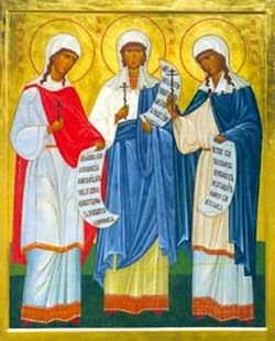 За Троицу терпеливно страдальчествовавшия