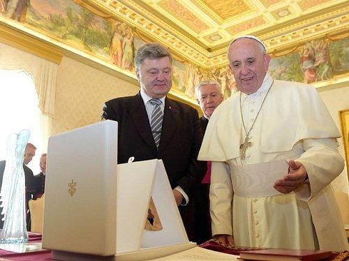 Порошенко съездил на поклон к папе