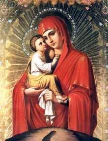 Матушка, Царица Небесная, спаси нас!