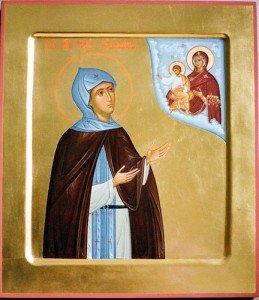 Обретение мощей преподобной Софии Суздальской