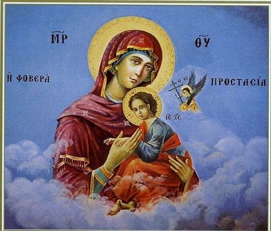 икона Божией Матери Страстрая