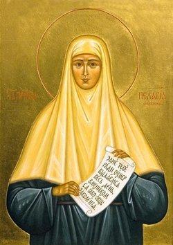 Подвижница Серафимо-Дивеевского монастыря