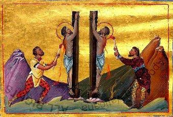 За обличение идолопоклонников были преданы разным мучениям