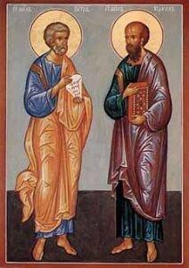 Проповедь в день святых первоверховных апостолов Петра и Павла