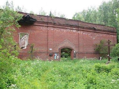 Место расстрела митрополита Вениамина Казанского