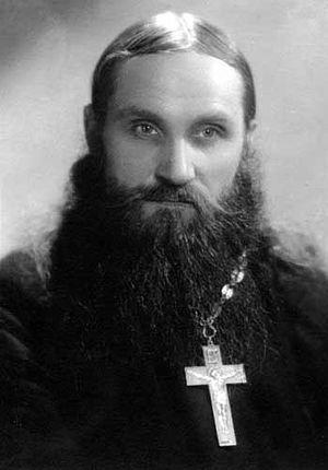 Старец Николай Гурьянов в молодости