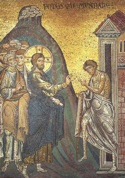 О современном мире, покрытом грехом, как евангельский прокаженный