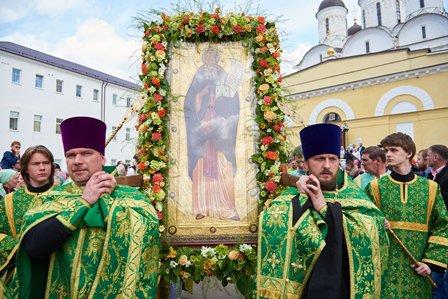 Чудо преподобного Пафнутия Боровского