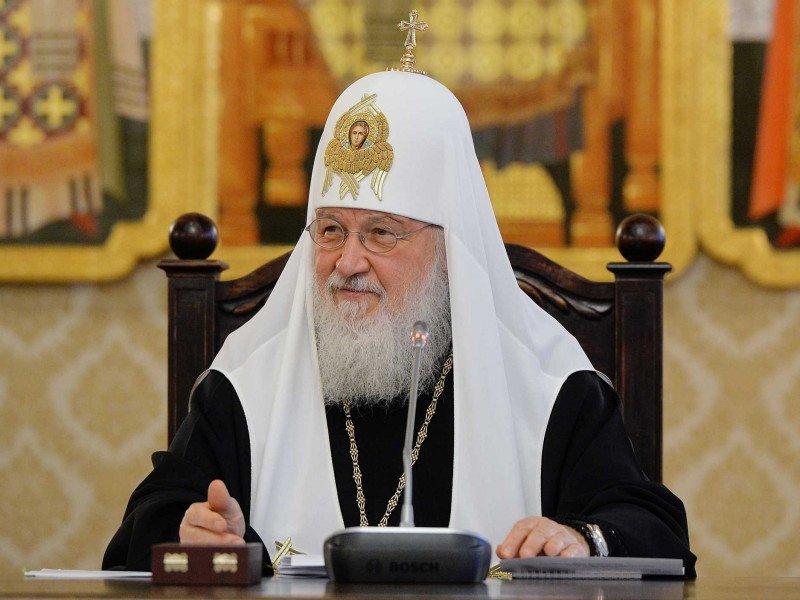 Патриарх Кирилл назвал грехом визит патриарха Варфоломея наУкраину