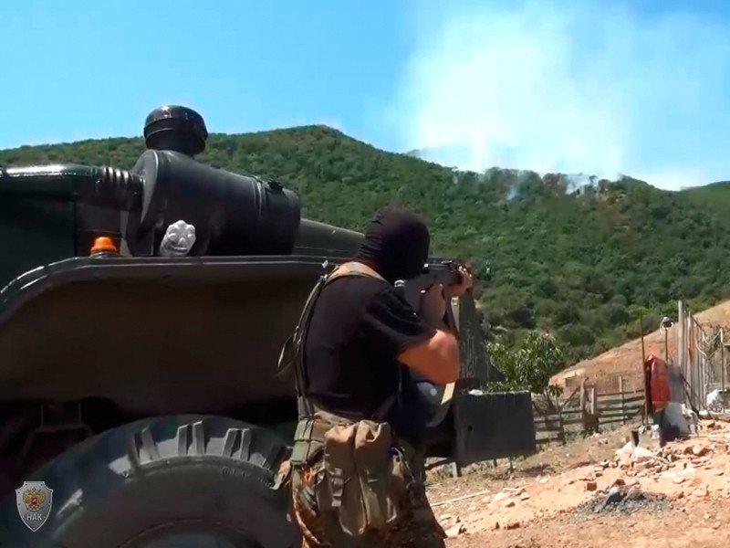 Двоих боевиков ликвидировали у села Талги в Дагестане