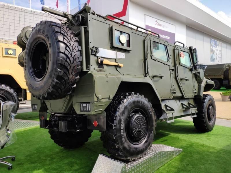 В России создан армейский автомобиль «сбронированным секретом»