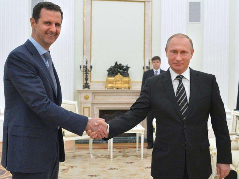 Очём говорили Владимир Путин иБашар Асад