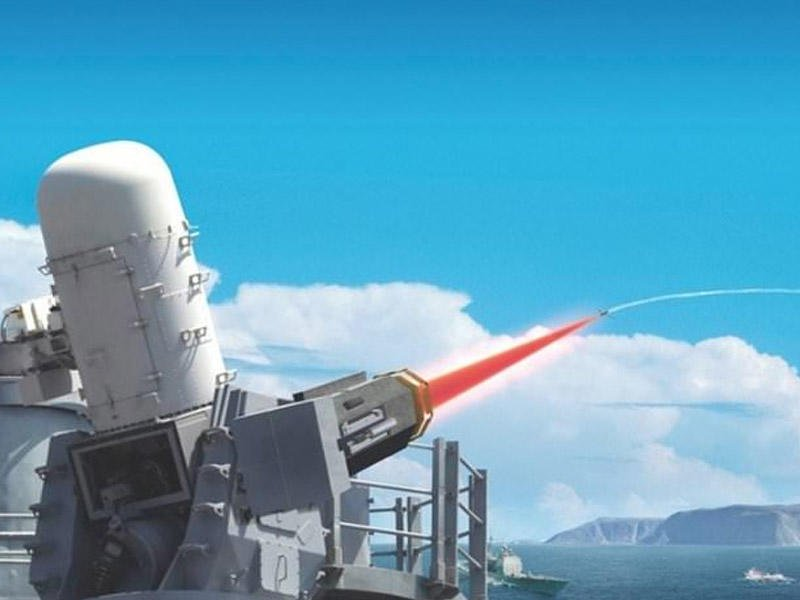 Королевский флот Великобритании готовит к испытанию боевой лазер против дронов