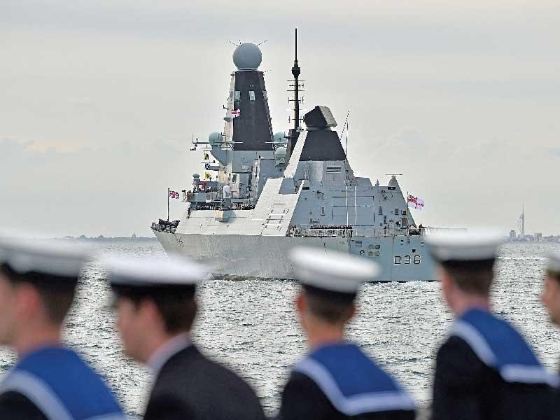 Британцы ужаснулись российским кораблем на учениях
