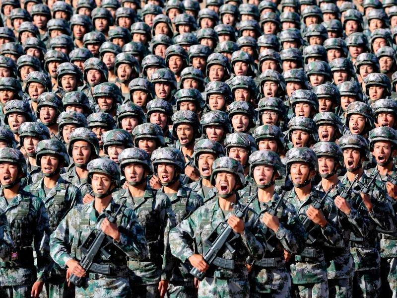 Народно-освободительная армия Китая провела военные учения в режиме реального боя вблизи Тайваня