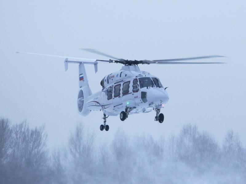 Вертолет Ка-27 не вышел на связь на Камчатке