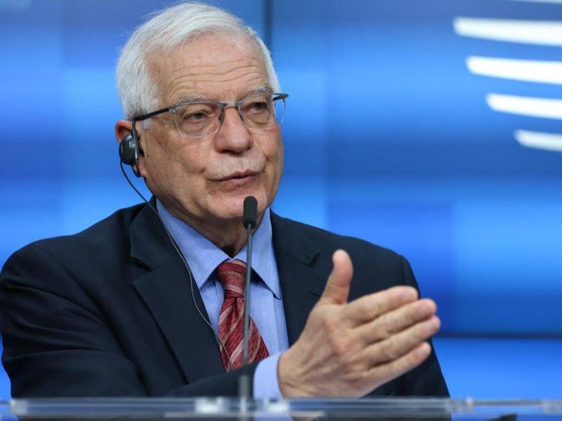 Боррель иЛавров обсудили построение более стабильных отношений между ЕСиРоссией