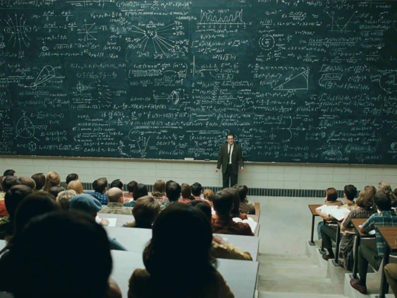 Преподаватель начал выкладывать напорносайте лекции поматематике идостиг успеха
