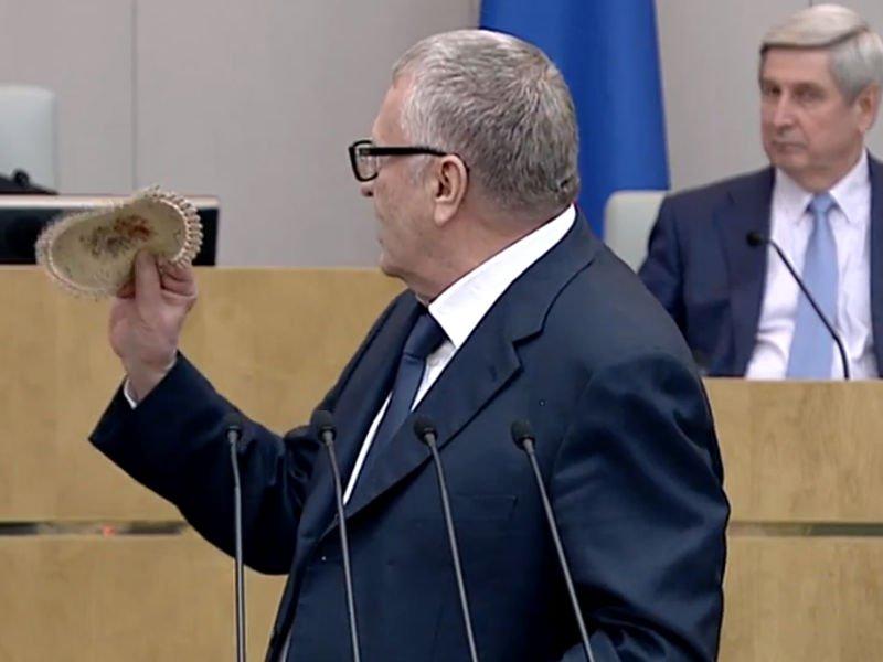 Жириновский иМиронов обменялись колкостями вприсутствии Путина