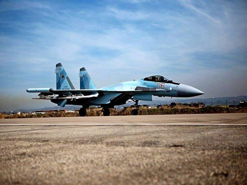Су-35С сопроводили бомбардировщик В-52Н ВВС США в Тихом океане