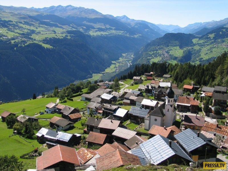 Перспективы жизни вШвейцарии