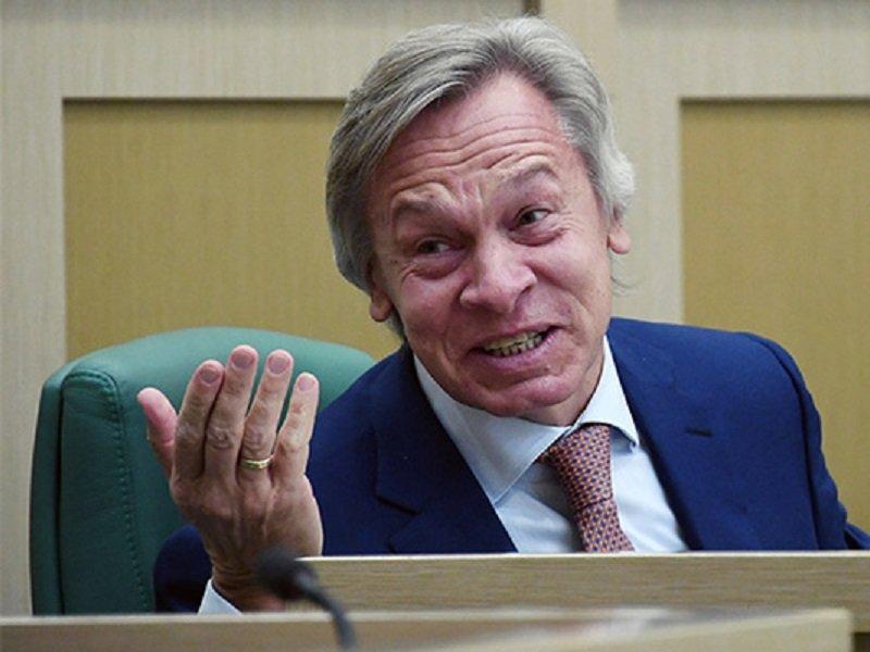 Пушков посмеялся над угрозами Киева «задавить» Россию